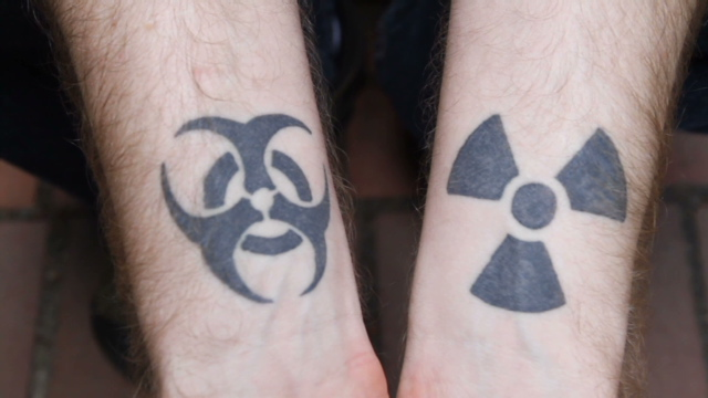 gay tattoos scene